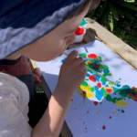 Straw Blowing Paintings